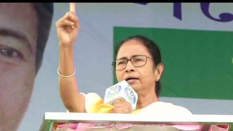 Mamata also alleged, 'The Election Commission of India had appointed two retired as special observers which is not accordance with the law'.  (Photo: ANI)