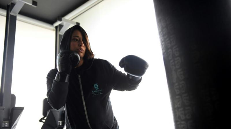 Relying on word-of-mouth publicity in a country where exercising in public is culturally deemed unbecoming for women, Alhamrani is working to empower a generation with little to no exposure to sports. (Photo: AFP)