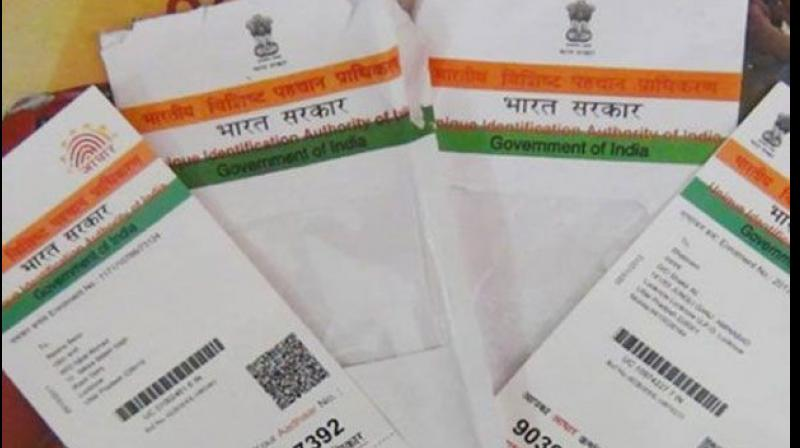 Currently, the last date to link Aadhaar with bank accounts is December 31 this year while for mobile numbers, it is February 6, 2018. (Photo: PTI)