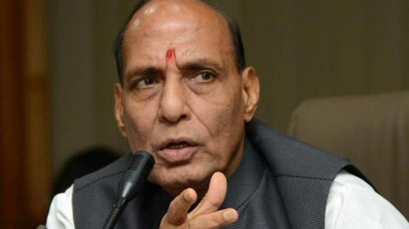 Rajnath Singh said this humanitarian step aims to give students and youth another chance to rebuild their lives and careers without being under any kind of stress of being declared criminals. (Photo: ANI)