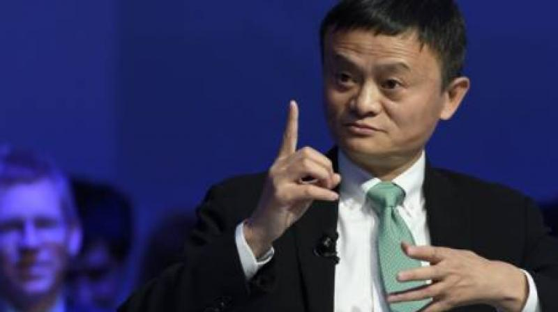 Chinese e-commerce giant Alibaba on Thursday said that the company is ready for a possible trade war with the United States, adding that it would not only survive the fight but will also thrive. (Photo: AFP)