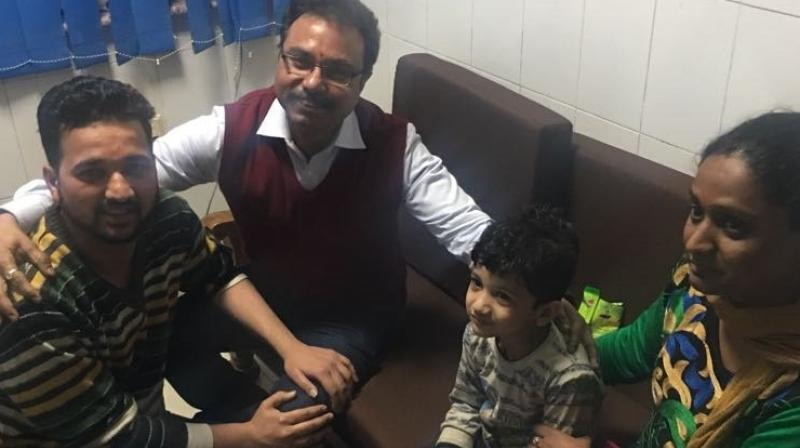 The Delhi police had got a lead when the abductors called the parents of the child on January 28 and demanded a ransom of Rs 50 lakh. (Photo: ANI)