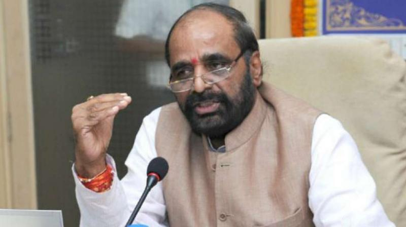 Hansraj Ahir said, 'Karnataka has seen 100 communal incidents in 2017 in which nine people were killed and 229 injured while there were 91 incidents of riots in Rajasthan in which 12 people were killed and 175 injured.
