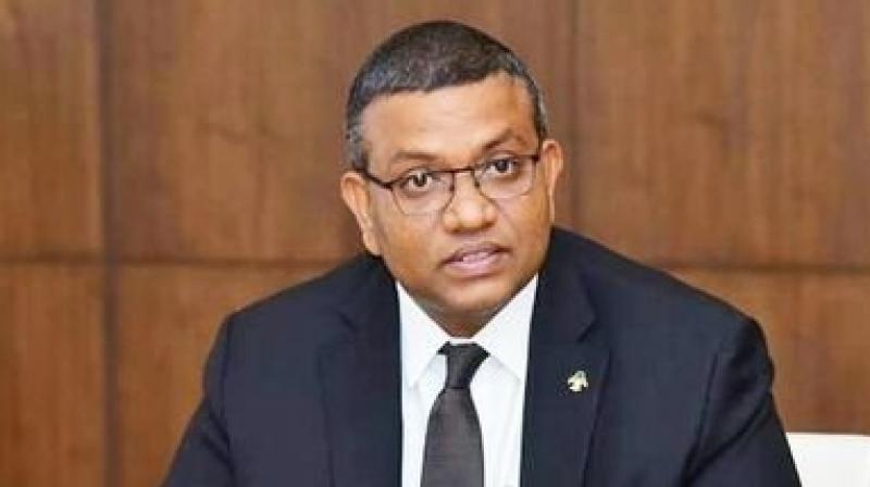 On the perception that Maldives was closer to China, Ahmed Mohamed said India should reach out to Maldives, and Male and New Delhi should have close ties given that the two countries are neighbours. (Photo: Twitter/@ahmedMDV)