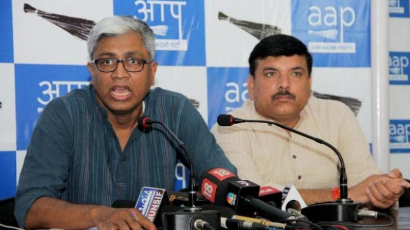 The Aam Aadmi Party on Wednesday cried foul over the arrest of two of its MLAs for allegedly attacking Delhi Chief Secretary Anshu Prakash. (Photo: PTI/File)