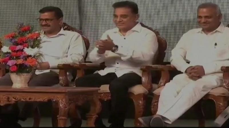 Kamal Haasan said, 'This is a party for the people. We have a responsibility. This isn't a one day show.'