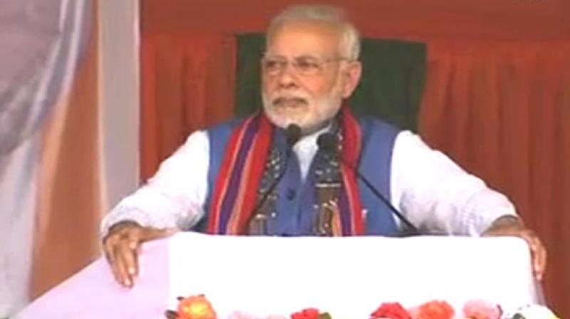 Prime Minister Narendra Modi will address election rallies in Nagaland and Meghalaya this week to drum up support for the BJP in the north-eastern states. (Photo: ANI)