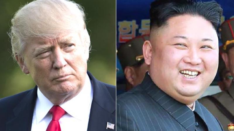 A meeting between US president Donald Trump and North Korean leader Kim Jong Un would mark a dramatic breakthrough in efforts to resolve the tense standoff over North Korea's effort to develop a nuclear-tipped missile capable of hitting the US mainland. (Photo: AFP)