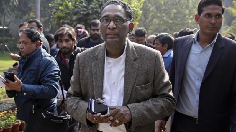 Justice Chelameswar, who retires on June 22, sat in a bench headed by the CJI along with Justice D Y Chandrachud as Friday was the last working day before the SC goes for long summer vacation. (Photo: File/PTI)