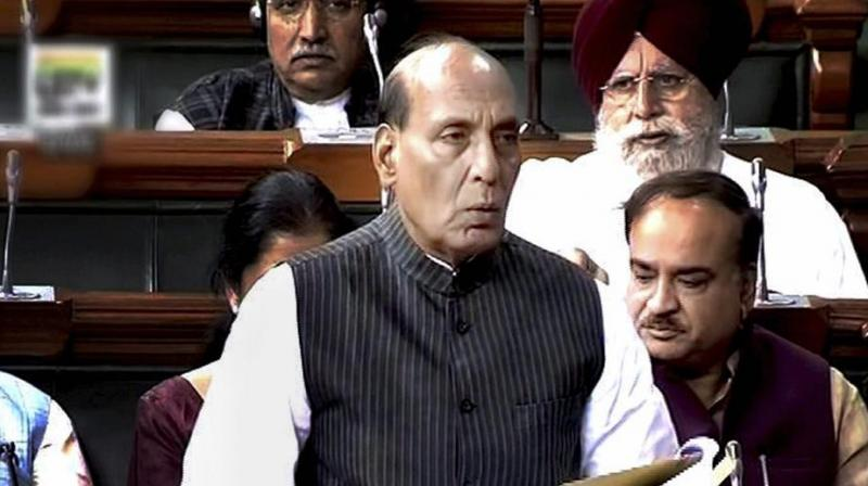 Soon after the Home Minister's response, members of the SP, RJD, Congress and TMC staged a walk-out from the House. (Photo: File/PTI)