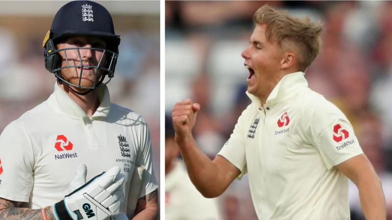 Ahead of the two-match Test series against New Zealand, England pacer Sam Curran has said that he looks up to teammate Ben Stokes and the way he manages to contribute with both the bat and the ball in his hand. (Photo:AFP)