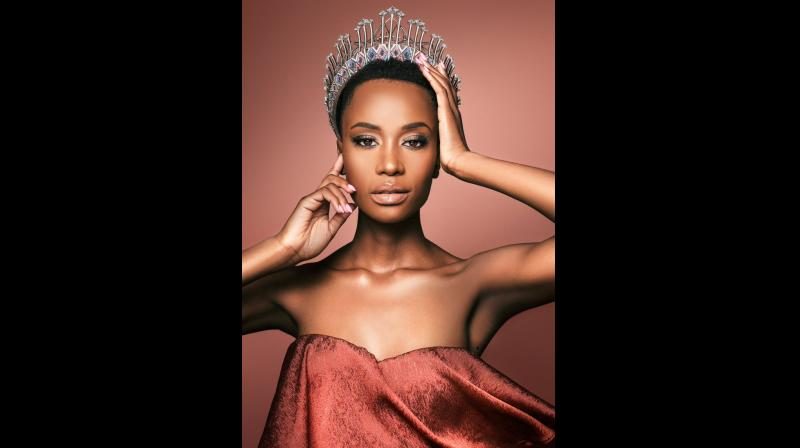 The 26-year-old Tunzi was declared the winner at a televised event, hosted by American comic-turned-TV personality Steve Harvey, held at Tyler Perry Studios here on Sunday. (Photo: Instagram)