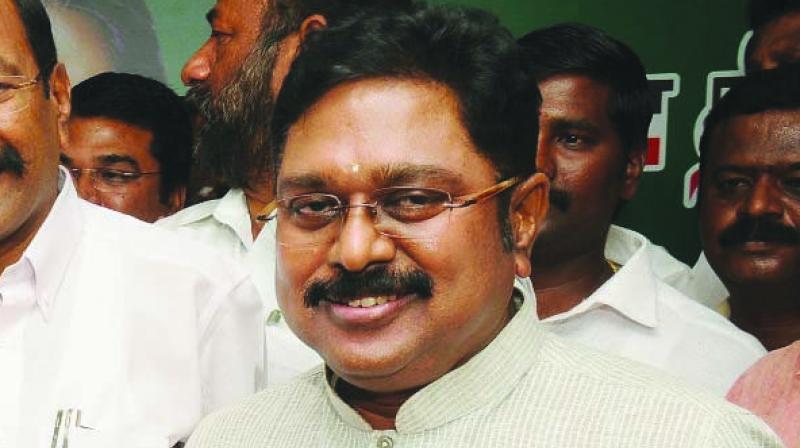 AIADMK (Amma) faction leader T.T.V. Dhinakaran