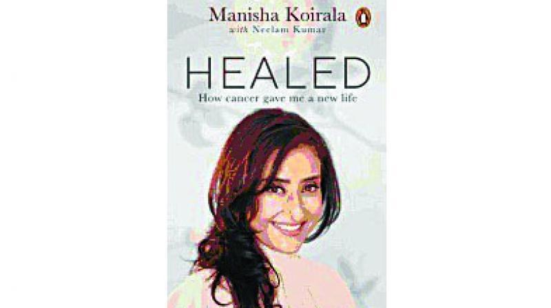 Healed By Manisha Koirala Penguin pp240; Rs 499