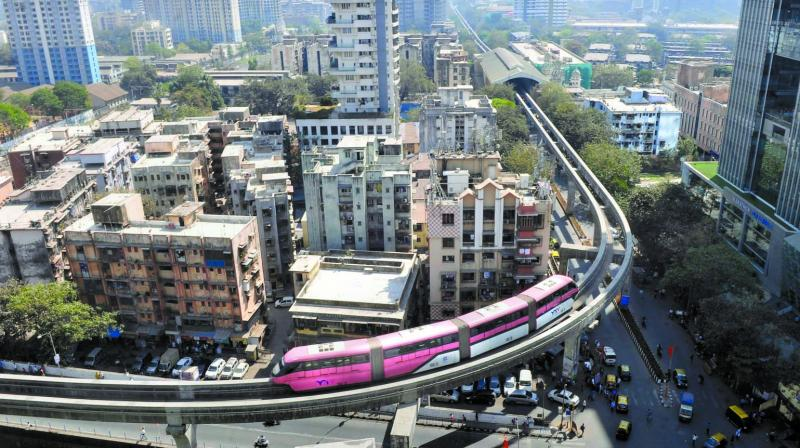 Monorail stations,Phase 2 — GTB Nagar, Antop Hill, Acharya Atre Nagar, Wadala Bridge, Dadar, Naigaon, Ambedkar Nagar, Mint Colony, Lower Parel, Sant Gadge Maharaj Chowk.
