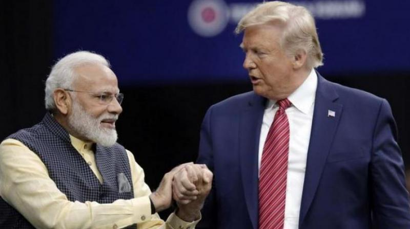 Narendra Modi (left) and Donald Trump. (File photo)