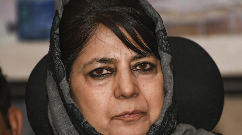Mehbooba Mufti has been in detention for more than eight months. (PTI)