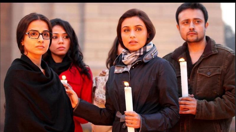 A still from No One Killed Jessica, a film based on the murder of Jessica Lal