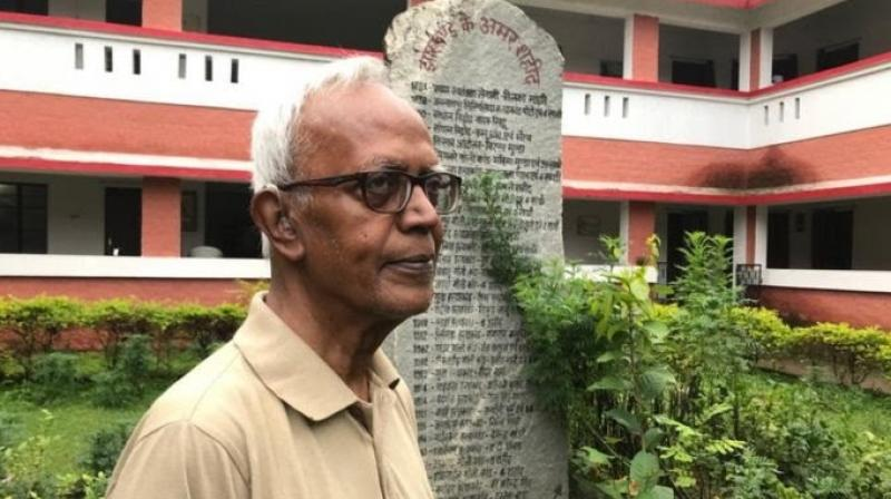 Swamy died at the private Holy Family Hospital in the city on July 5. (Photo: Twitter/@WilfredQuadros)