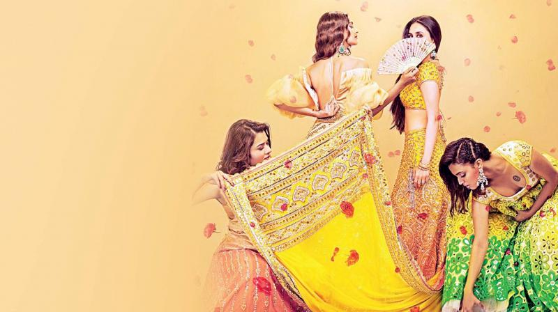 While the trailer of the much-awaited Veere Di Wedding may have gathered praises and crossed over 12 million views in just a few days, it has come under the scanner.