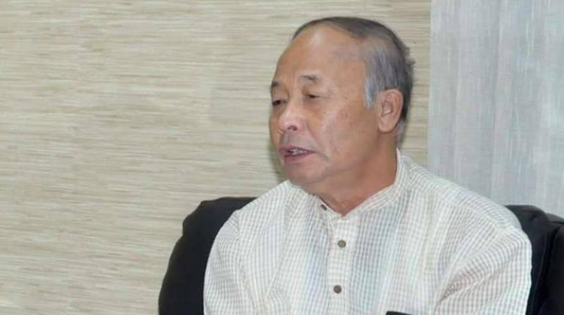Outgoing Manipur Chief Minister Okram Ibobi Singh (Photo: File)