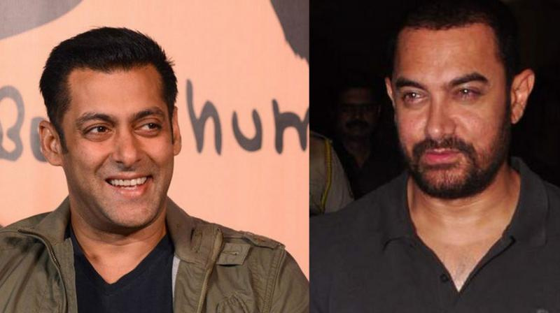 Aamir Khan and Salman Khan has been friends for a very long time. (Photo source: AFP and Deccan Chronicle)
