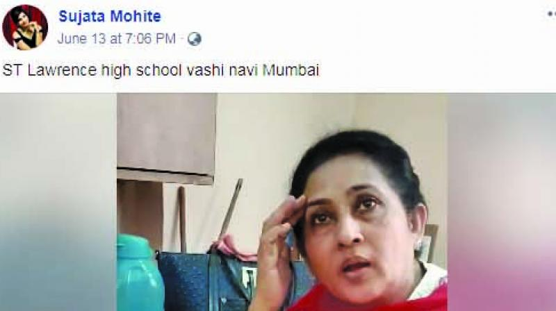 Sujata recorded the conversation with the principal and shared it on her social media, which went viral in just the matter of a few hours.