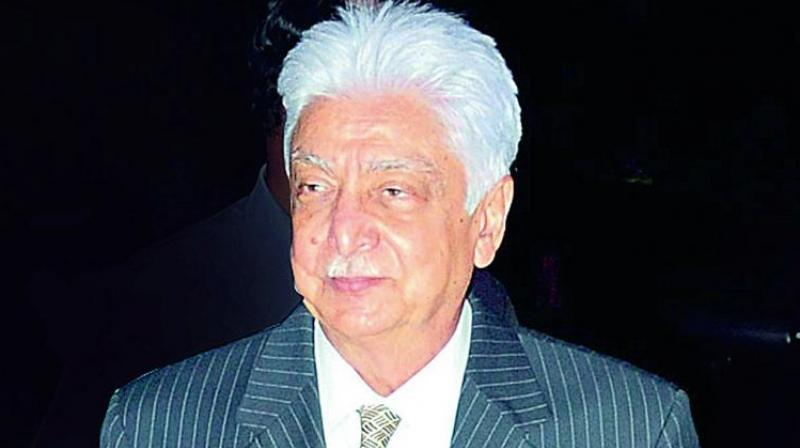 Founder and outgoing chairman Azim Premji.