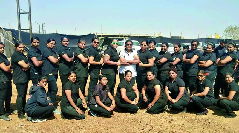 Forty-year-old Deepa Parab recounts a recent experience of working with her all-female bouncer team at an event.
