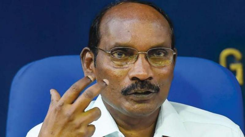 Talking to media persons in Bhubaneswar on Saturday, Sivan had said: 'We could not establish any communication with the lander (Vikram) yet. We achieved total success in science objective while in technology demonstration; the success percentage was almost full. That's why the project can be termed as 98 per cent successful.' (Photo: File)