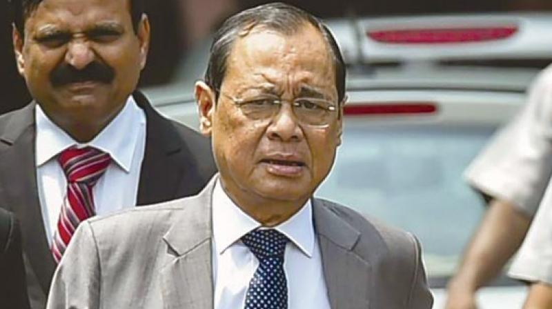 Justice Gogoi will demit office as the Chief Justice of India on Sunday. (Photo: File)