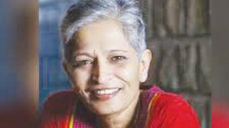 Gauri Lankesh was shot dead on the night of September 5, 2017, from a close range in front of her Rajarajeshwari Nagar house around 8 pm. (Photo: File)