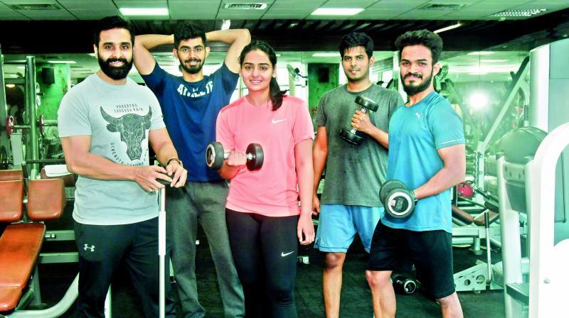 Hyderabadis hitting the gym (location courtesy 360 Degree Fitness)