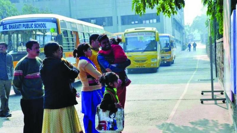 School bus owners have said that will put an end to illegal and unsafe vehicles plying without RTO permits, but parents have said they find them economically affordable.