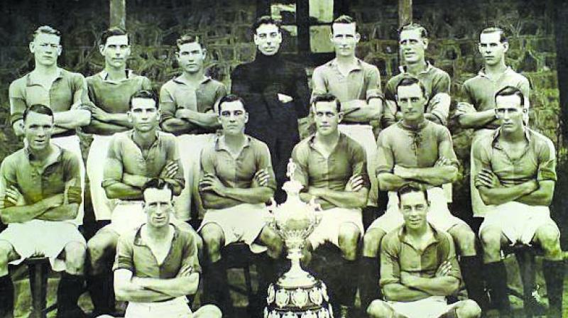 Rover Cup winners from the past.