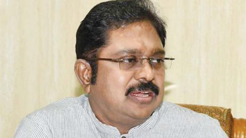 The list included three disqualified AIADMK MLAs owing allegiance to Dhinakaran, who floated the AMMK after being sidelined in the ruling party. (Photo: File)