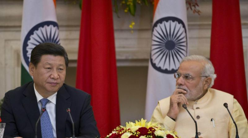 Chinese President Xi Jinping and Prime Minister Narendra Modi. (Photo: AP)