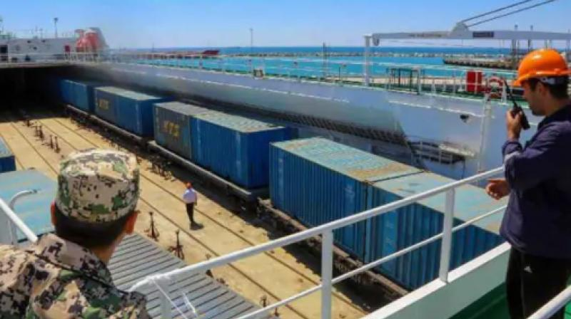 For the moment, evidence of Beijing's economic might is light on the ground at Aktau, more than 2,300 kilometres (1,400 miles) from the China-Kazakhstan border crossing that is a key entry point for goods bound for Europe overland. (Photo: AFP)