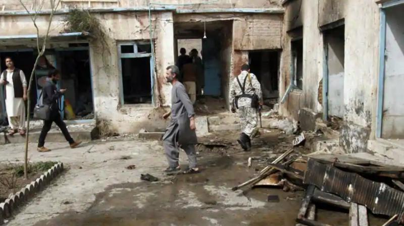 A large amount of heavy and light weapons and ammunition were destroyed during raids on two Islamic State hideouts. (Photo: AP)