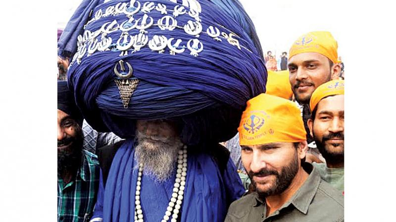 Saif Ali Khan at the Golden Temple