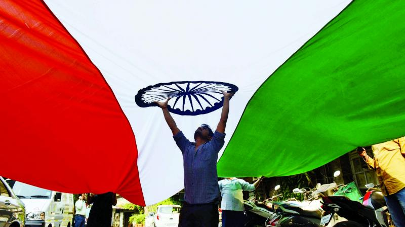 A loudspeaker has been fitted around 100 feet away from the school building and those who hear the National Anthem being sung through it, join the chorus, school Headmaster Safikul Islam said. (Photo: Rajesh Jadhav   Representational)