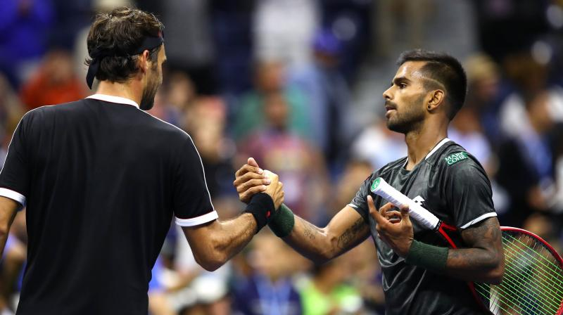 The 22-year-old Nagal had qualified for the US Open main draw on Friday. (Photo: AFP)