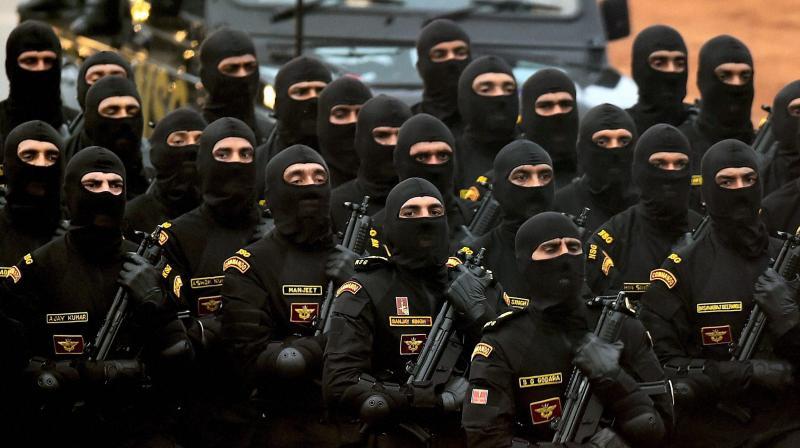 NSG commandos (PTI file photo)