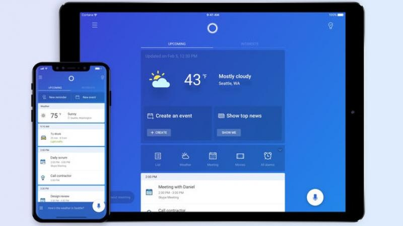 Microsoft has also made it sure that Cortana will utilise the new aspect ratio on the newest iPhone X, so X users needn't worry about black bars.