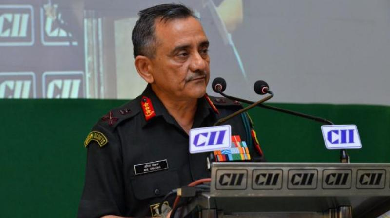 General Officer commanding-in-Chief of the eastern command Lt. Gen. Anil Chauhan informed this at the Vijay Diwas Celebr-ations at the Eastern Command Headquarters, Fort William on Monday. (Twitter | @CIIevents)
