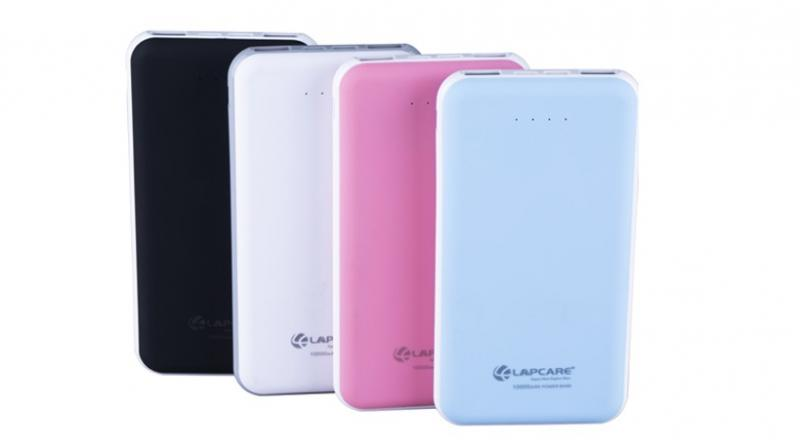 The power bank is ideal for smartphones, tabs, iPhone and iPad.