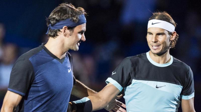 The last time they met, Switzerland's Roger Federer claimed a record 18th grand slam title in a rousing 6-4 3-6 6-1 3-6 6-3 triumph over Rafael Nadal in Melbourne in January. (Photo: AP)