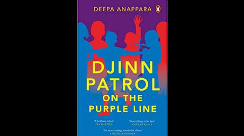 Djinn Patrol on the Purple Line. Author: Deepa Annapara. Publisher: Penguin Random House India. Price: Rs 499. 343pp
