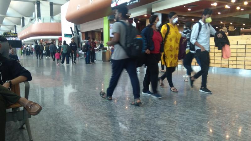 So far more than 61,000 passengers have been screened for coronavirus symptoms at the Kempegowda International Airport in Bengaluru.
