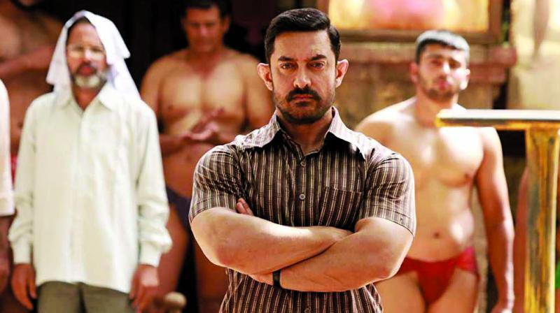 Aamir hurt the rhomboid muscle in his back while shooting Dangal
